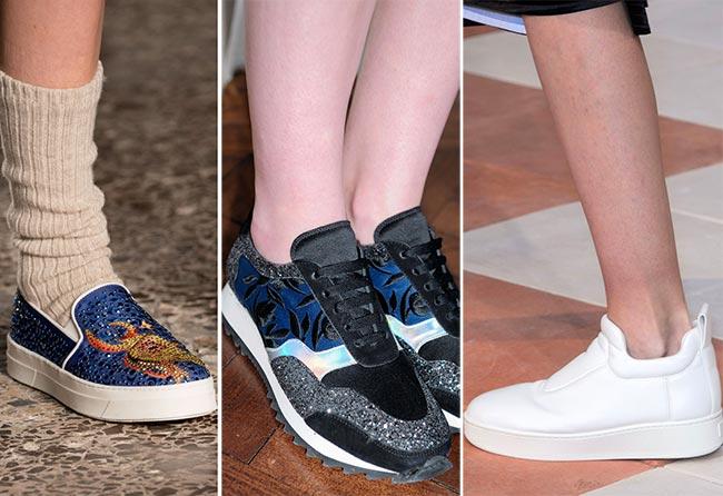Fall/ Winter 2015-2016 Shoe Trends: Slip-Ons, Sneakers