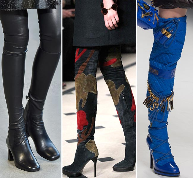 Fall  Winter 2015-2016 Shoe Trends  Thigh-High Boots 40594beb0