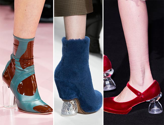 Fall/ Winter 2015-2016 Shoe Trends: Shoes With Transparent Lucite Heels