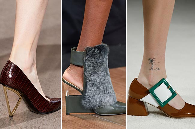 Fall/ Winter 2015-2016 Shoe Trends: Unusual, Quirky Shoes