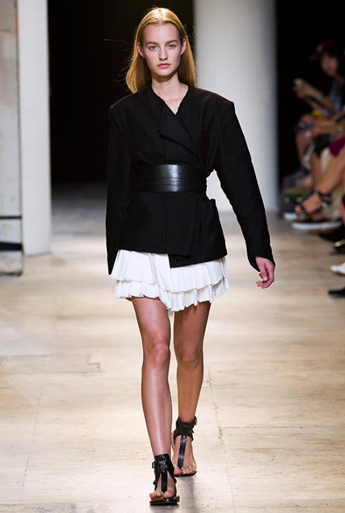 7 Cool Ways to Wear a Belt This Spring: Isabel Marant