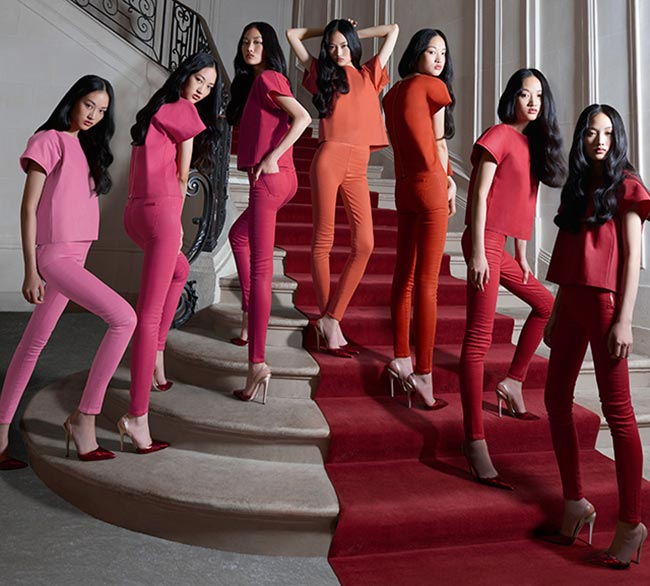 7 for All Mankind and Giambattista Valli Collaboration