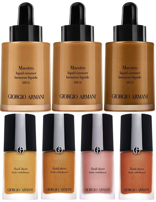 Giorgio Armani Maestro Sun Summer 2015 Collection