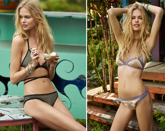 Lovers + Friends Summer 2015 Swimwear