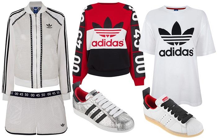 detailed look 82c29 ebd71 Topshop x Adidas Originals Summer 2015 Collection