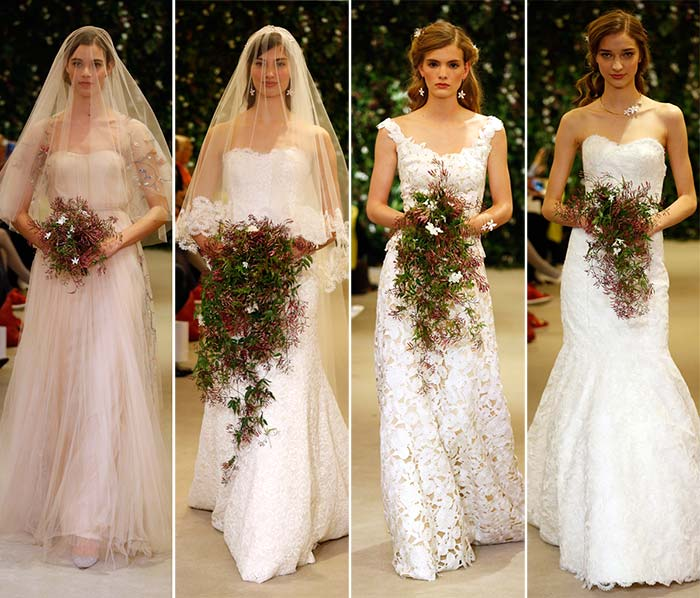 Carolina Herrera Bridal Spring 2016 Collection
