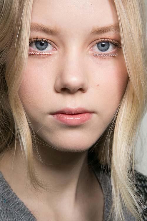 Fall 2015 Trend of Studded Eyes: Rodarte