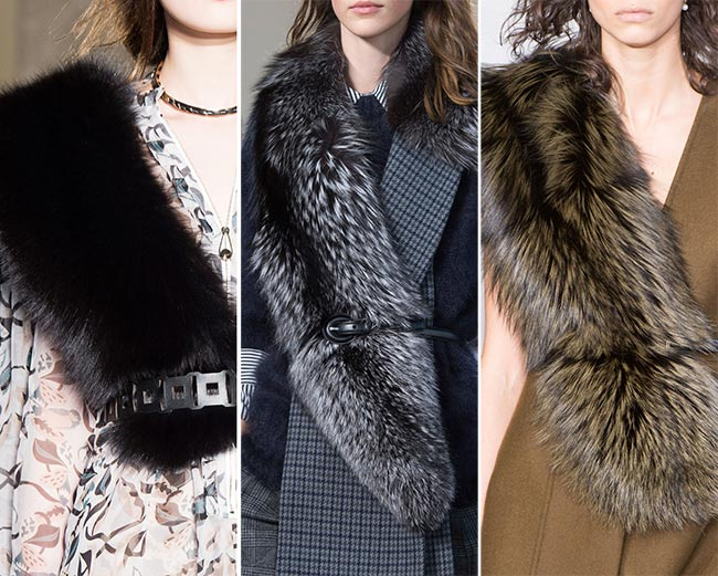 Fall/ Winter 2015-2016 Accessory Trends: Fur Stoles