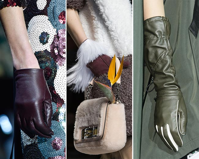 Fall/ Winter 2015-2016 Accessory Trends: Trendy Gloves
