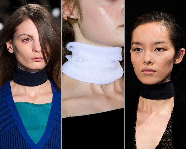 Fall/ Winter 2015-2016 Accessory Trends: Turtleneck Chokers