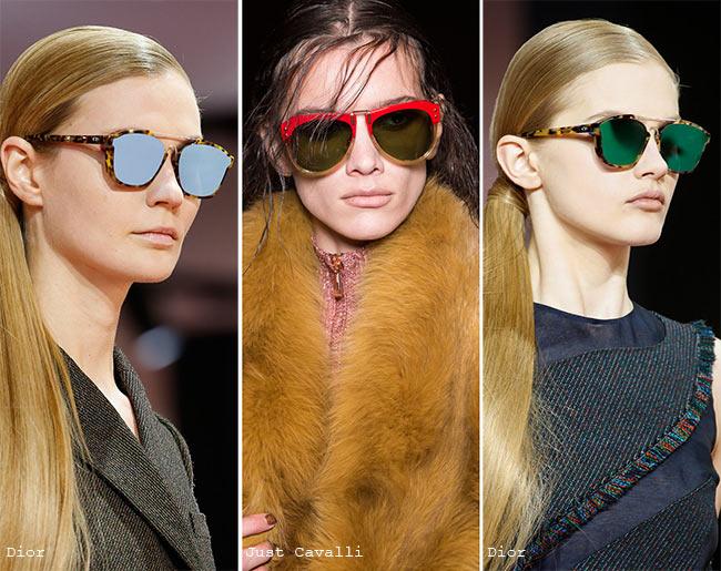 Fall/ Winter 2015-2016 Eyewear Trends: Aviator Sunglasses