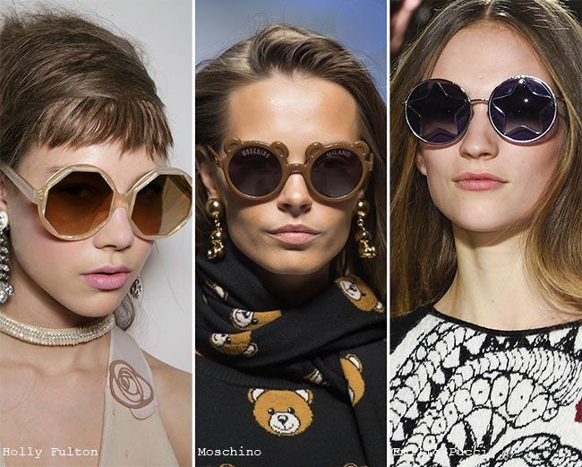 Fall/ Winter 2015-2016 Eyewear Trends: Unique, Funky Sunglasses