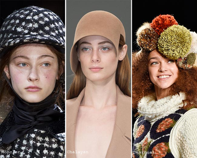 Fall/ Winter 2015-2016 Headwear Trends: Hats Matching The Outfits
