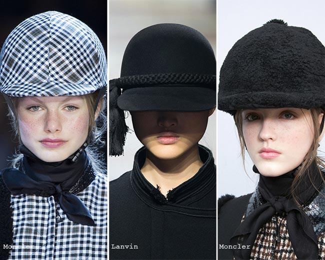 Fall/ Winter 2015-2016 Headwear Trends: Helmets and Caps
