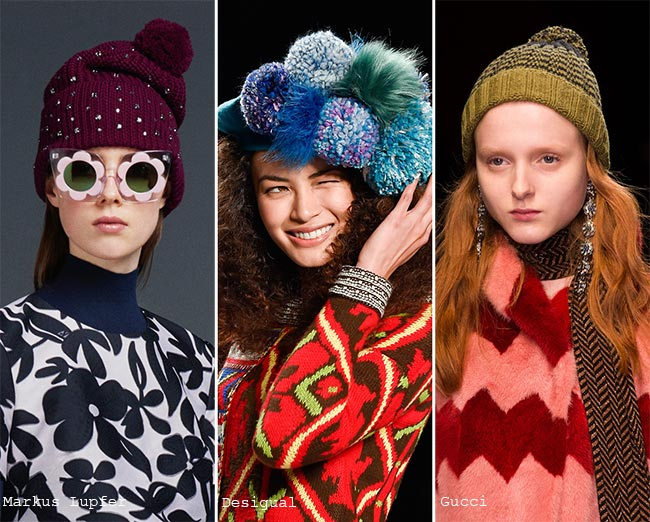 Fall  Winter 2015-2016 Headwear Trends  Pompom Hats 10f1799f262