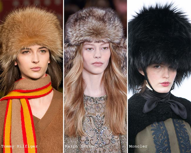 Fall/ Winter 2015-2016 Headwear Trends: Tulle and Fur Hats