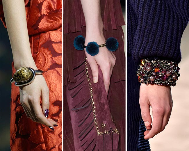 Fall/ Winter 2015-2016 Jewelry Trends: Bauble Bracelets