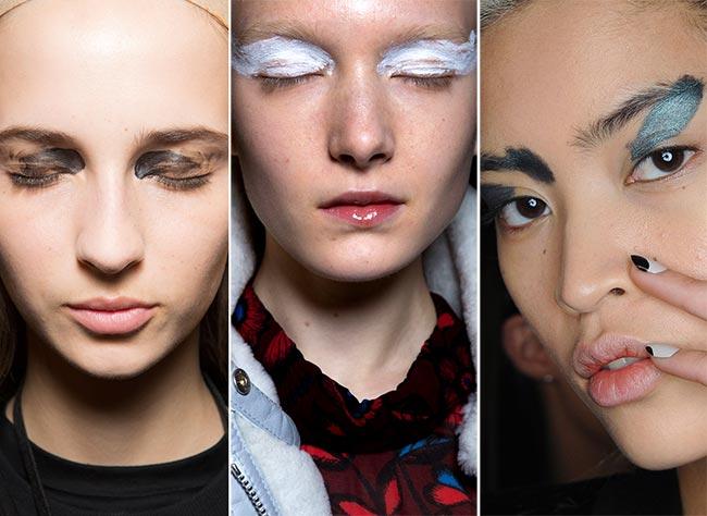 Fall/ Winter 2015-2016 Makeup Trends: Artistic Brushstrokes