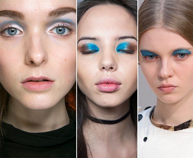 Fall/ Winter 2015-2016 Makeup Trends: Blue Eye Makeup