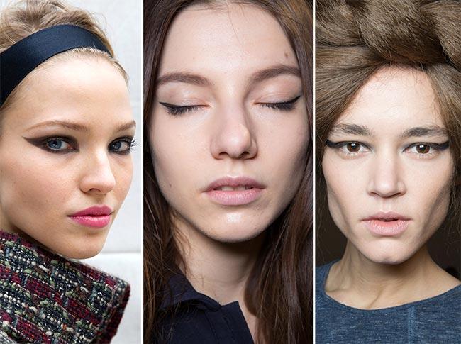 Fall/ Winter 2015-2016 Makeup Trends: Cat Eye Makeup