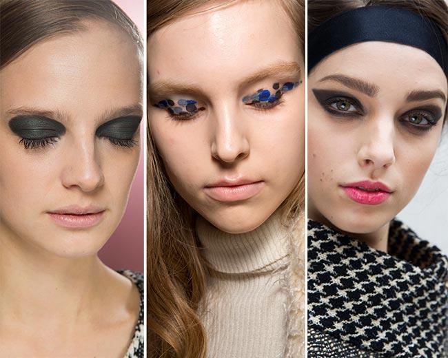 Fall/ Winter 2015-2016 Makeup Trends: Graphic Eye Makeup