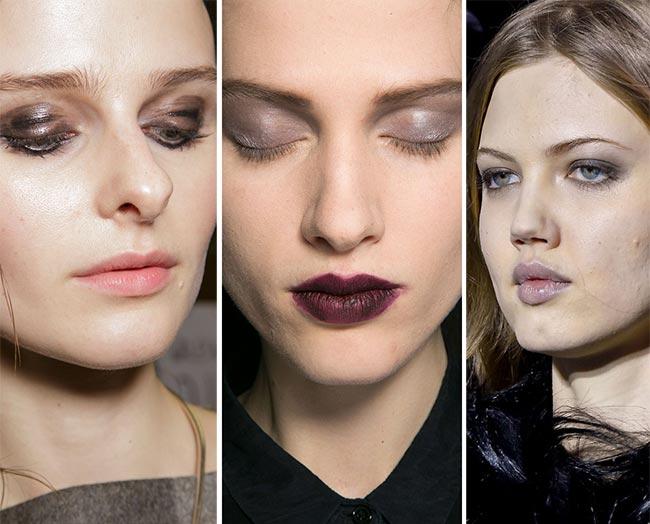 Fall/ Winter 2015-2016 Makeup Trends: Gray Eye Makeup