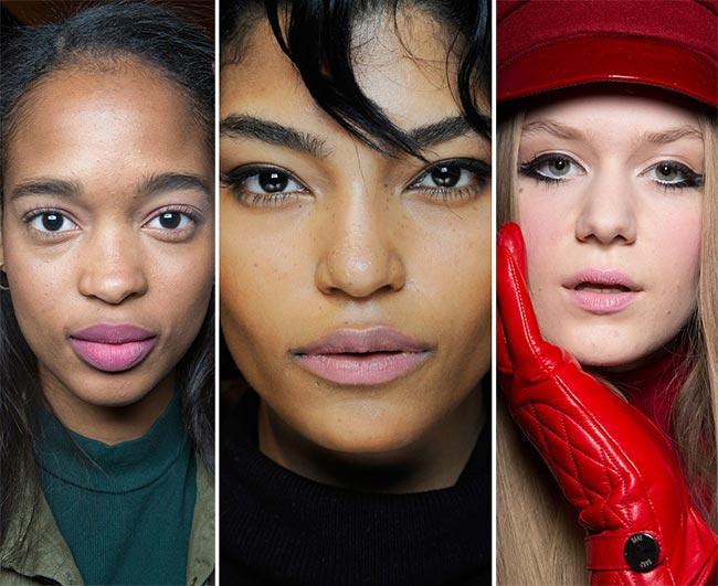 Fall/ Winter 2015-2016 Makeup Trends: Pink Lips