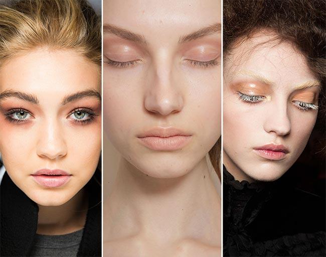 Fall/ Winter 2015-2016 Makeup Trends: Simple Eye Makeup