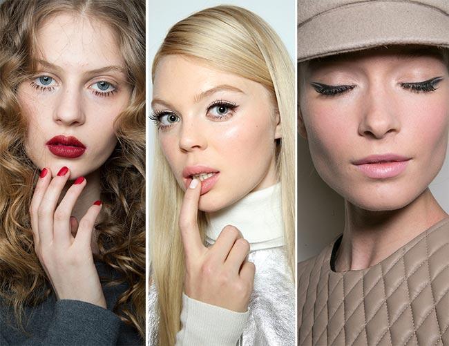 Fall/ Winter 2015-2016 Makeup Trends: Sixties Twiggy Makeup