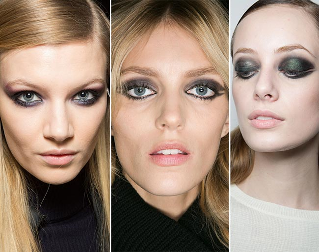 Fall/ Winter 2015-2016 Makeup Trends: Smokey Eye Makeup