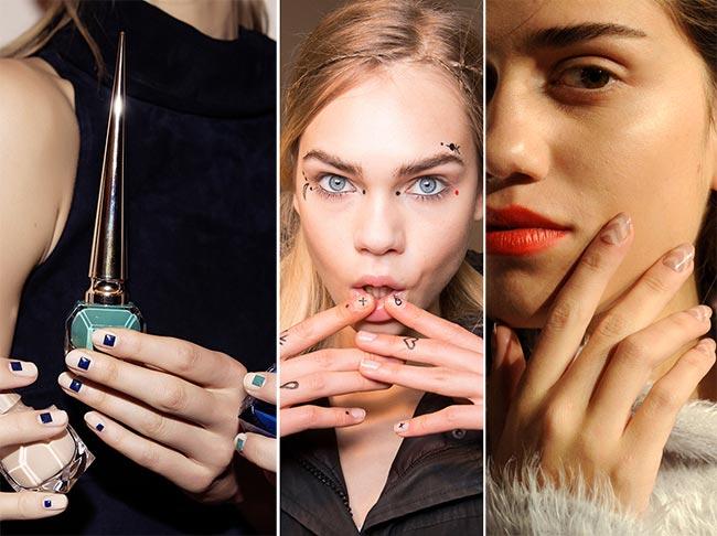 Fall/ Winter 2015-2016 Nail Trends: Minimal Nail Art