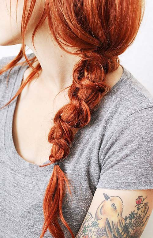 15 Killer Braided Hairstyles to Try for Coachella: Knot Braids