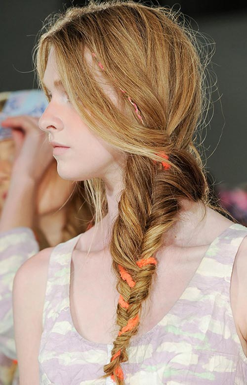 15 Killer Braided Hairstyles to Try for Coachella: Side Braids
