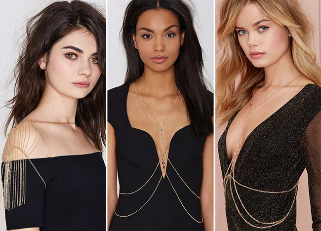 Festival Body Chains for 2015
