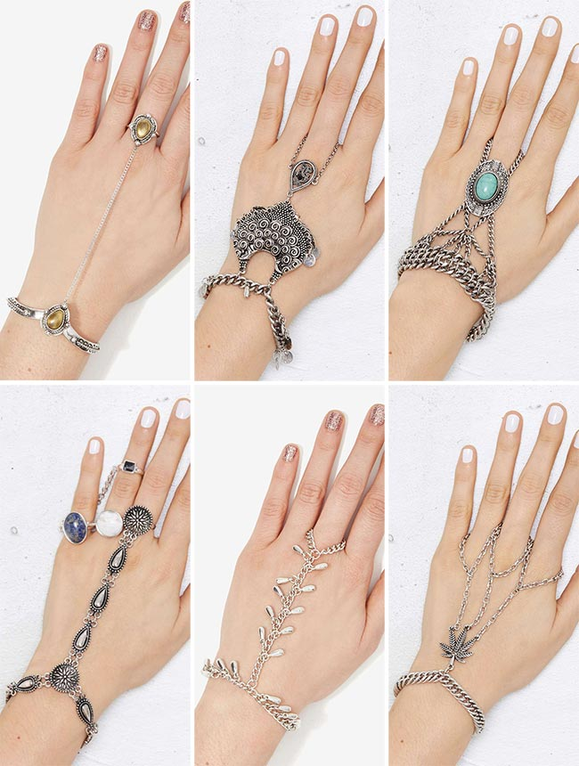 Festival Chain Hand Jewelry for 2015