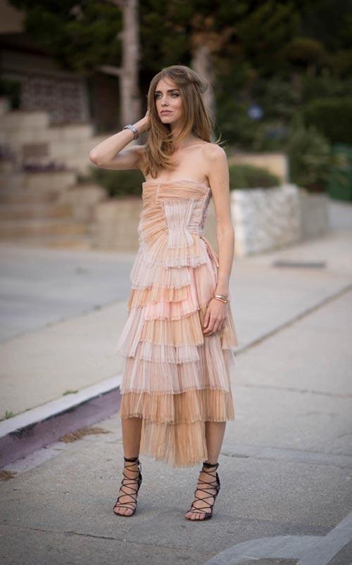 Summer 2015 Nude Wedding Guest Dresses: Burberry Prorsum