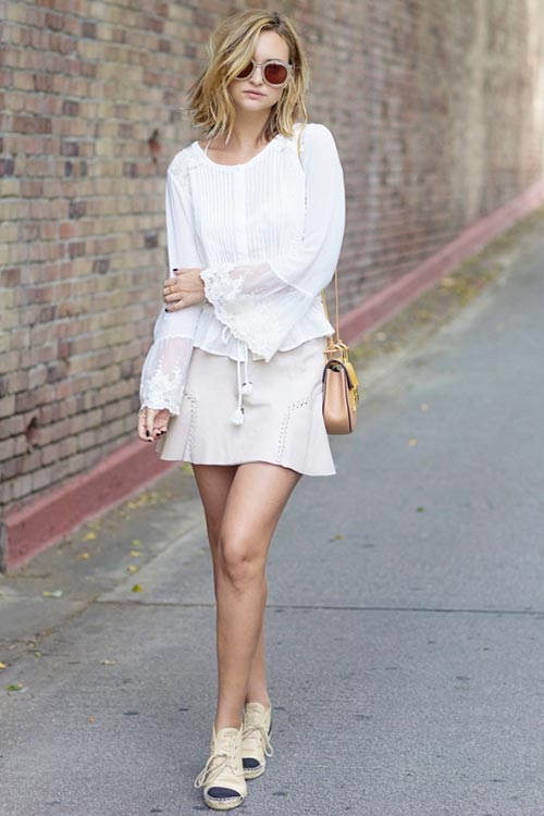 Summer 2015 Outfit Ideas from It Girls: Late Afternoon