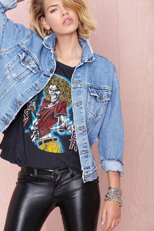 10 Denim Pieces for 2015 You Should Not Go Without: Denim Jacket