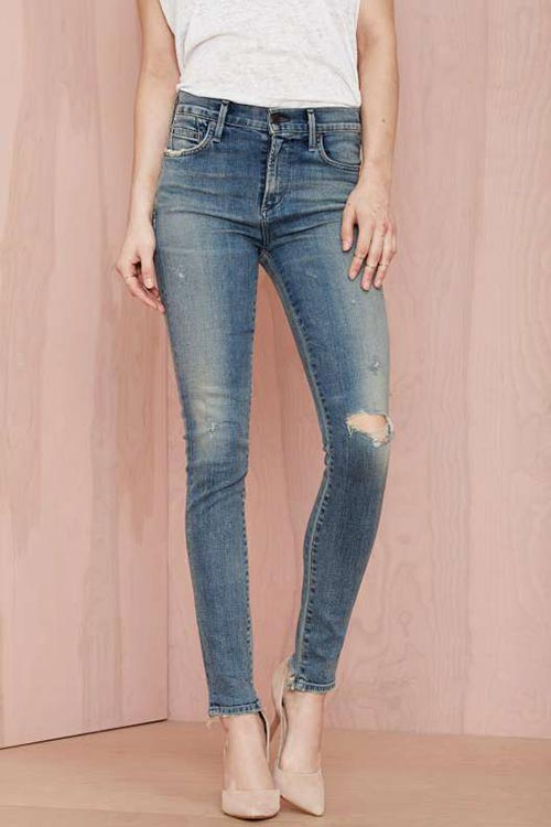 10 Denim Pieces for 2015 You Should Not Go Without: Skinny Jeans
