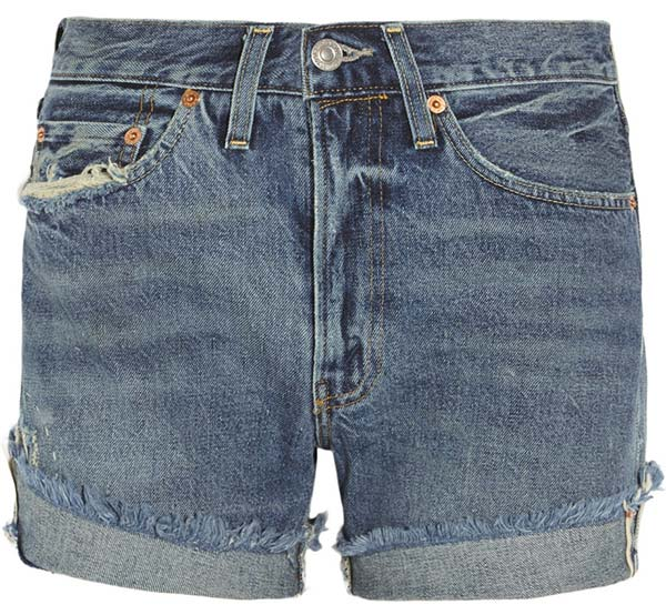 Summer 2015 Trendy Denim Shorts: Levi's Denim Shorts