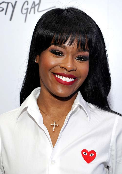 1970s Hairstyles With Bangs: Azealia Banks