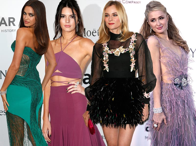 Cannes 2015 amfAR Gala Red Carpet Fashion