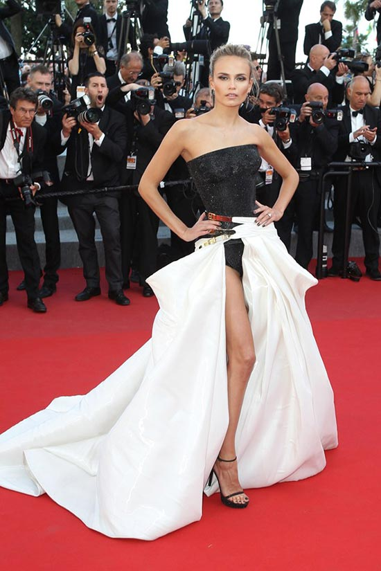 Cannes 2015 Celebrity Dresses: Natasha Poly