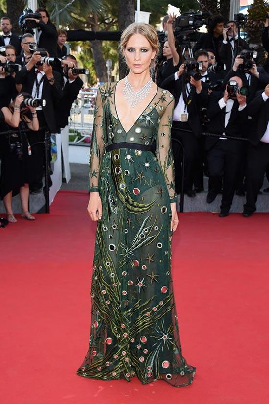 Cannes 2015 Celebrity Dresses: Poppy Delevingne