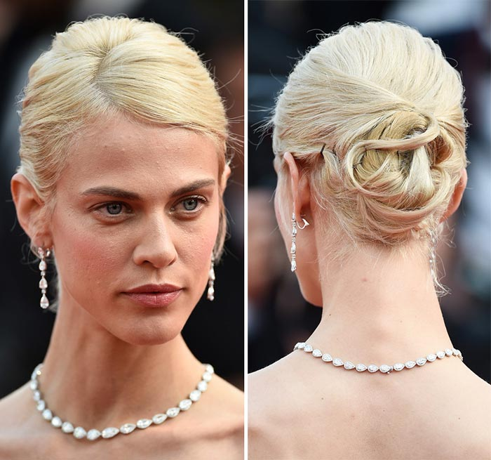 Cannes Film Festival 2015 Hairstyles & Makeup: Aymeline Valade