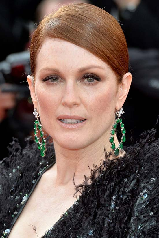 Cannes Film Festival 2015 Hairstyles & Makeup: Julianne Moore