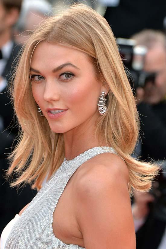 Cannes Film Festival 2015 Hairstyles & Makeup: Karlie Kloss