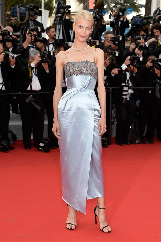 Cannes 2015 Opening Ceremony Red Carpet Fashion: Aymeline Valade