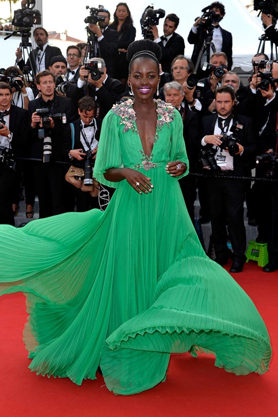 Cannes 2015 Opening Ceremony Red Carpet Fashion: Lupita Nyong'o