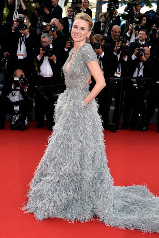 Cannes 2015 Opening Ceremony Red Carpet Fashion: Naomi Watts
